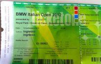 BMW Italian Open 2012: ci sono stato
