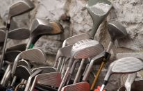 Antifurto per i bastoni da golf