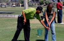 Come diventare professionista di golf