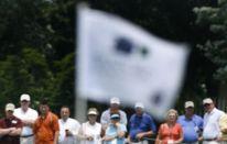 La mira in un colpo da golf