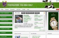 Nuovo sito della Federazione Italiana Golf