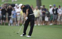 Augusta Masters 2012 con Tiger Woods e i fratelli Molinari