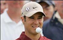 Trevor Immelman e la palla da Golf particolare