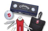 Idee regalo Golf? Victorinox Swiss Army Golf Tool con palline Callaway