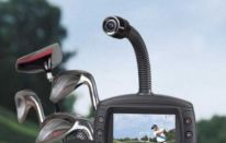 V-Swing: videocamera+display da sacca per analizzare il movimento