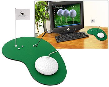 Mouse e tappetino Golf Style!