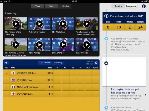 open championship iphone ipad app