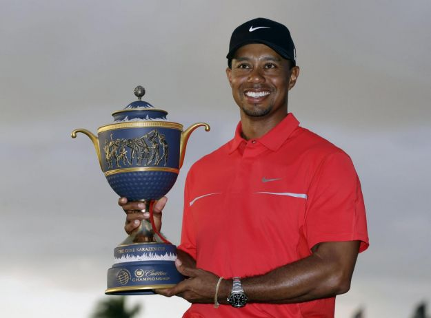 Tiger Woods vince il Cadillac Championship in Florida