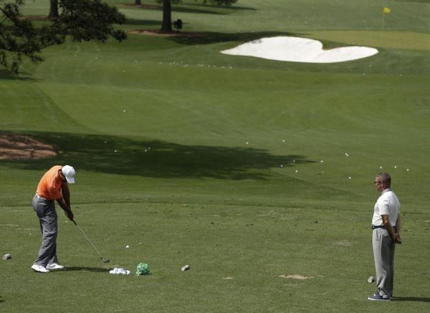 Tiger Woods allenamento tipo