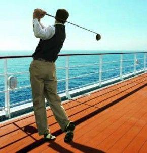 Golf sulla nave da crociera MSC Sinfonia