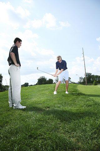 Come allenarsi per giocare a golf