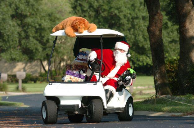 Santa Claus Golf December 25, 2003
