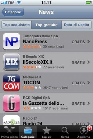 Nanopress iPhone