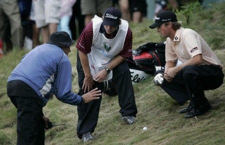 dubbio regole golf