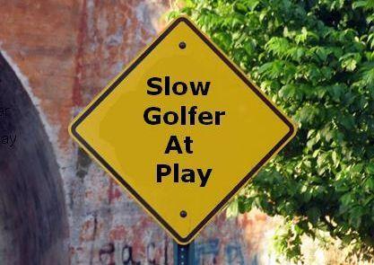giocare golf gioco lento