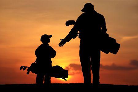 golf padre figlio