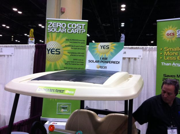 golfcart solar