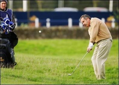 Lezioni di golf: approcci a correre