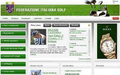 Nuovo sito Federazione Italiana Golf