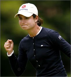 Lorena Ochoa number one