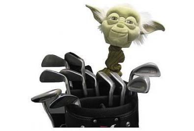 Star Wars Yoda Golf Club Cover