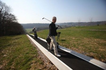 tapis roulant golf