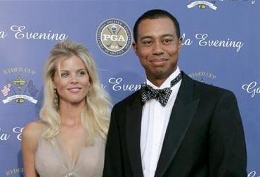 Tiger e Elin Woods