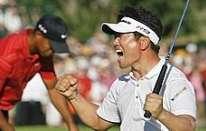 PGA Championship: Tiger beffato da Yang, ottimo Molinari