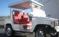 Hummer Golf Cart!