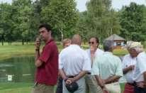 Andrea Agnelli e il golf