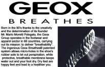 Geox debutta con scarpe da golf