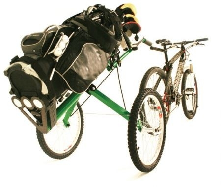 Foto: Bicycle Golf Caddy