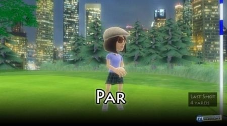 Avatar Golf su Xbox Live par