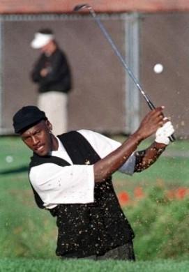 Michael Jordan swing