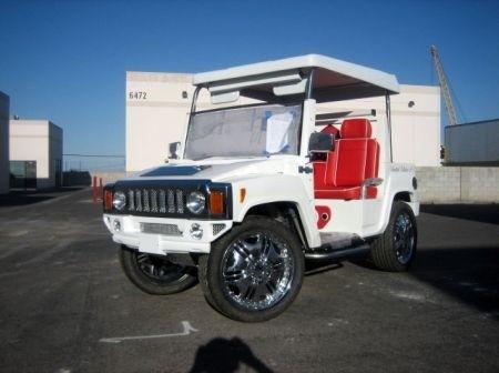 Hummer Golf Cart fronte