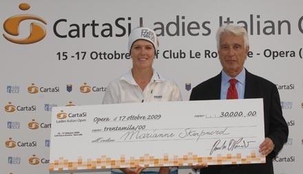 Marianne Skarpnord premiazione