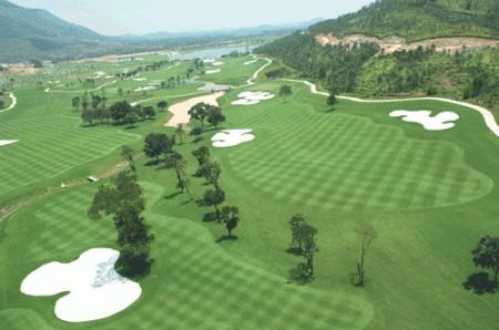 Vietnam Golf visione aerea