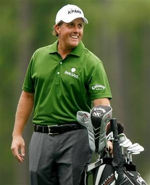 Phil Mickelson mancino