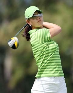 Michelle Wie Swing