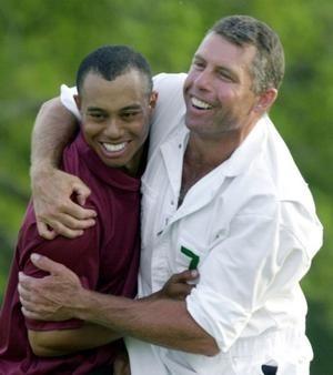 Steve Williams e Tiger Woods
