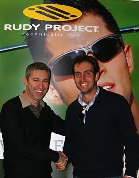 Foto: Edoardo Molinari nuovo testimonial Rudy Project