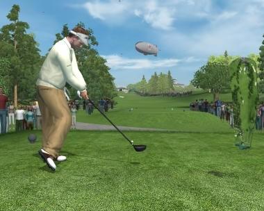 Tiger Woods PGA Tour 11 interfaccia