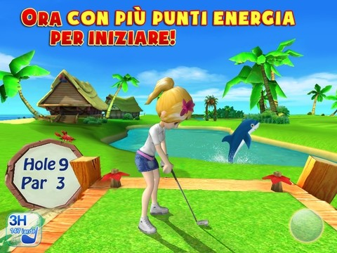 Giochi Golf Let's Golf 3 per iPad-iPhone