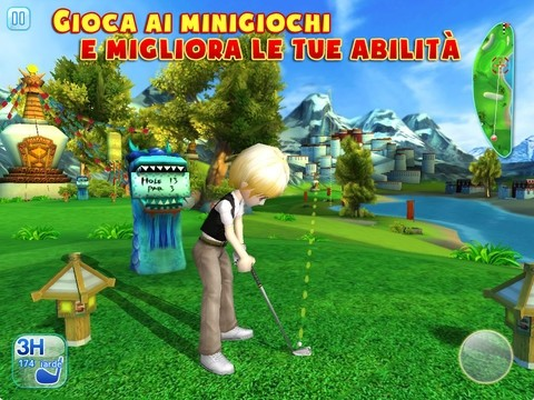 Let's Golf 3 per iPad iPhone prove abilità