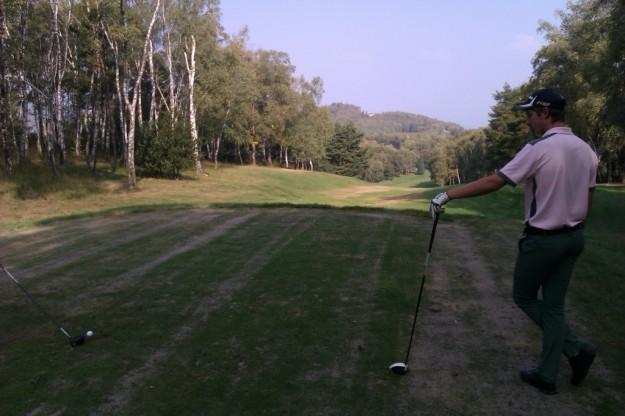 Golf Des Iles partenza