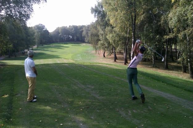 Golf Des Iles tee shot