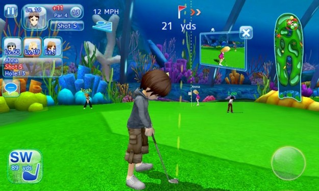 Let's Golf 3 HD multiplayer