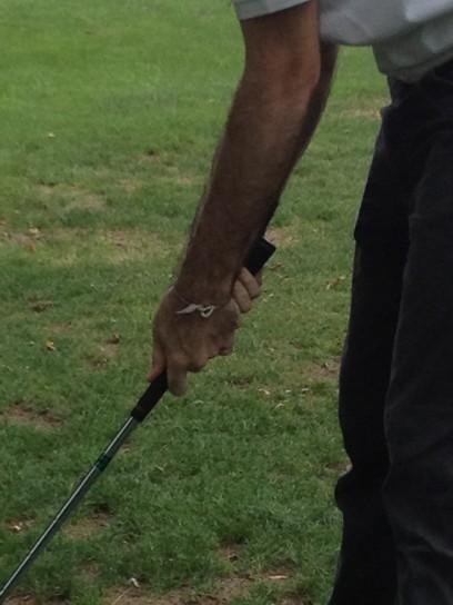 Lezione di golf al Golf Club Milano