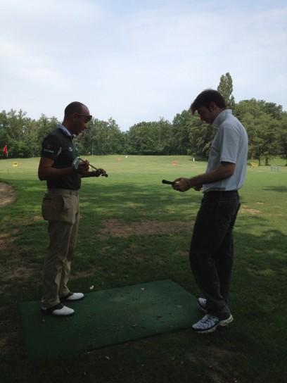 Lezione di golf, impugnatura (2)
