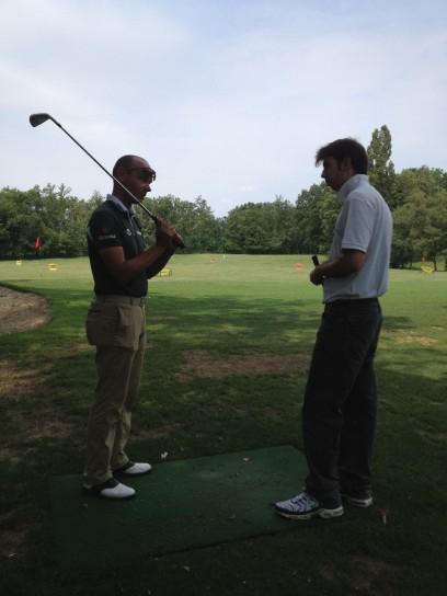 Lezione di golf, impugnatura (3)